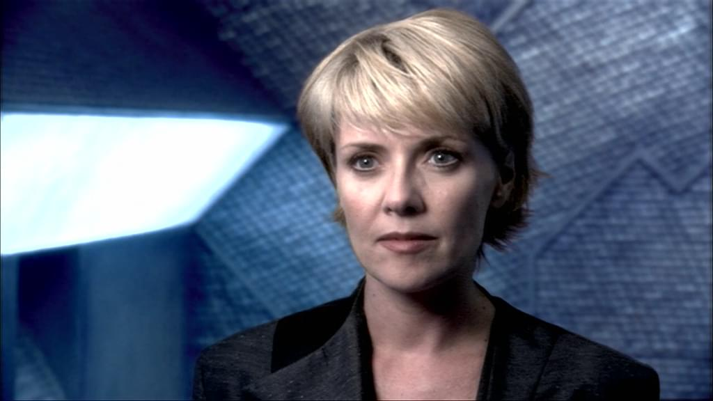 """An image from Stargate SG-1 Season 8 Episode 17, """"Reckoning"""", showing blowout"""