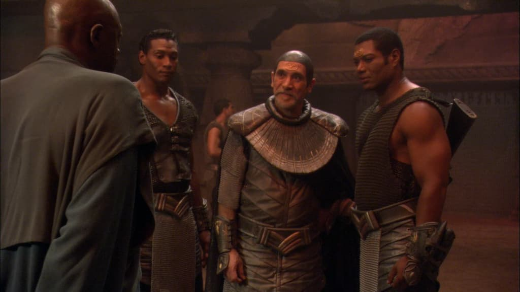 "An image from Stargate SG-1 Season 8 Episode 16, ""Reckoning Pt. 1"""